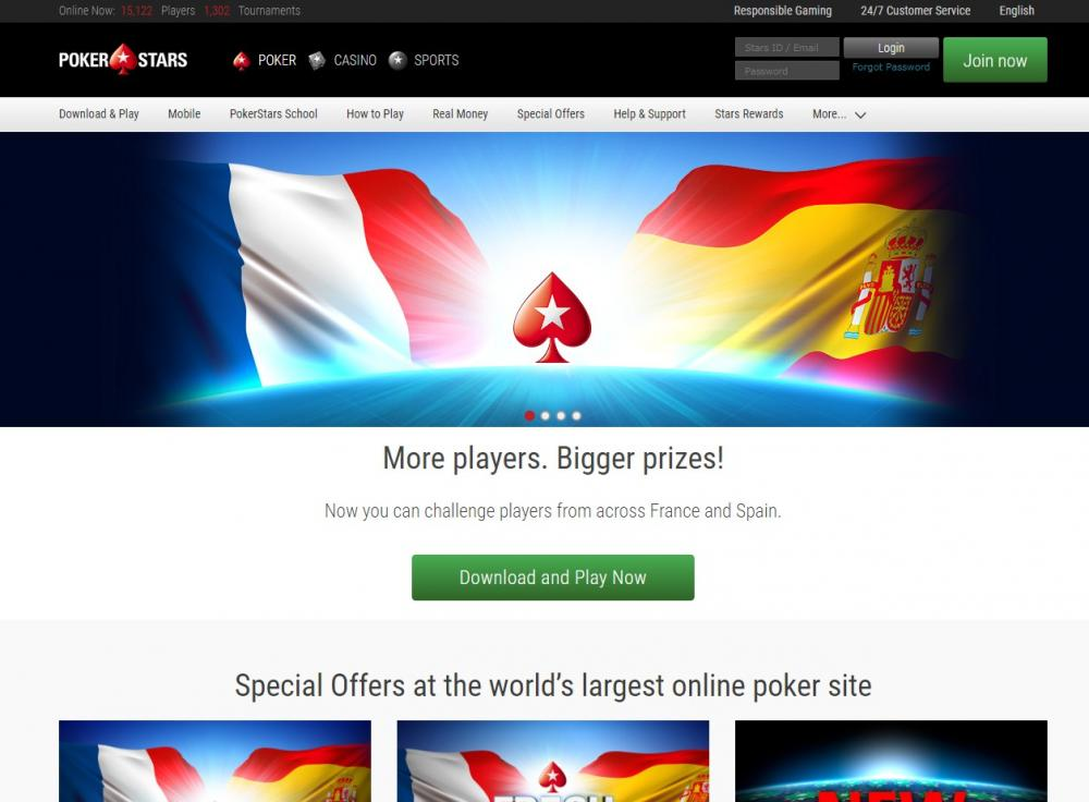 PokerStars.es для Казахстана