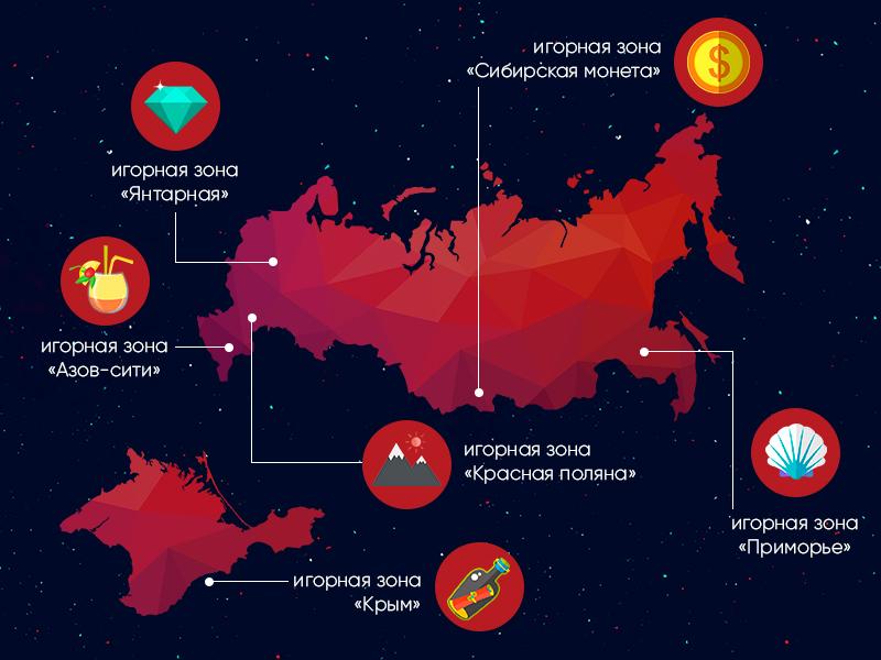 официальный сайт где в россии игровые зоны для казино